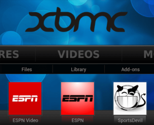 watch espn in kodi