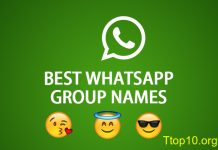 whatsapp group names