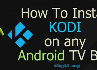 install kodi on android box