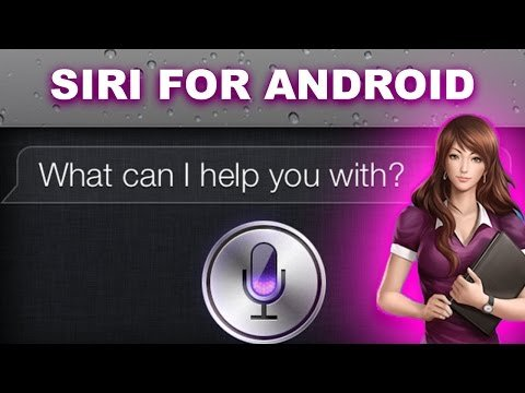 siri apps for android