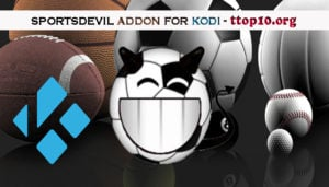 how to add sportsdevil to kodi