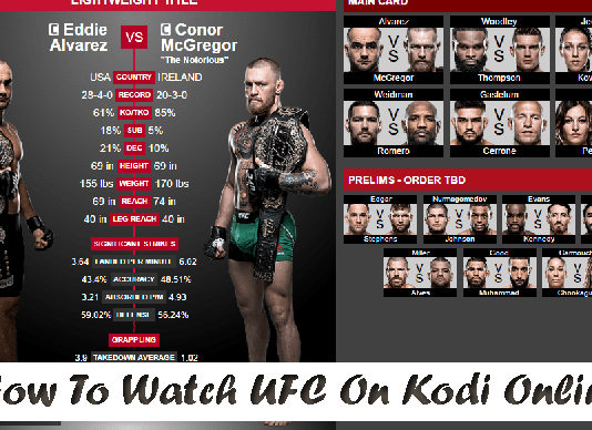how to watch ufc on kodi
