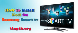 kodi on samsung smart tv