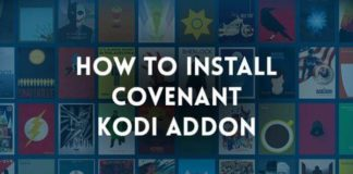 install covenant kodi