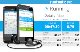 top running apps for android