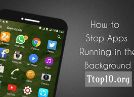 how to stop apps running in background android programmatically