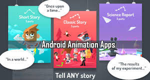 3d animation apps for android