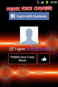 prank call app android