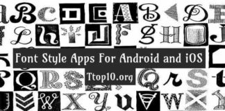font style apps