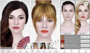 new hairstyle apps
