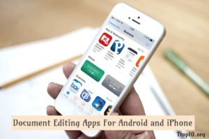 Document Editing Apps