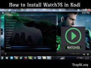How to Install Watch5S in Kodi