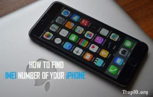 imei number iphone