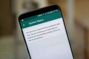 How To Check If Whatsapp is Down