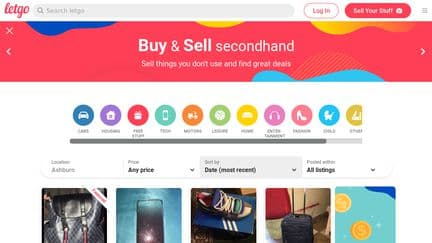 websites like offerup