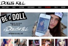 Stores Like Dolls Kill