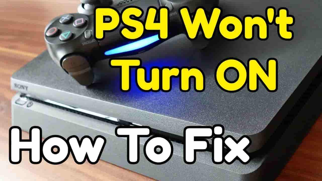 Ps4 won't turn on