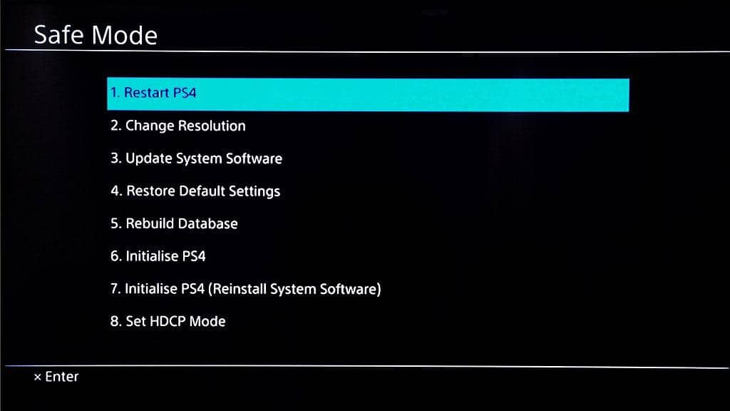ps4 won't turn on after update
